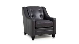 Smith Brothers Leather 203 Chair
