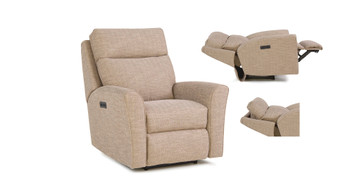 Smith Brothers 418 Power Recliner w/ Headrest