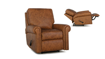 Smith Brothers 420 Leather Power Reclining Chair