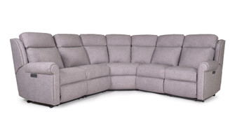 Smith Brothers 422 Power Reclining Sectional