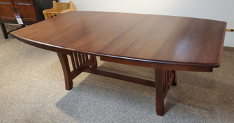Amish Woodside Woodworks Cherry Trestle Table