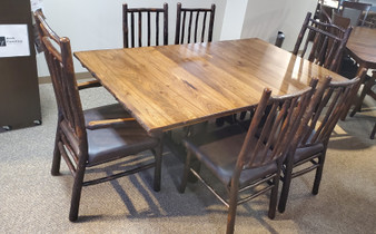 Amish Hilltop Hickory Table Set