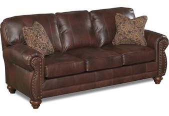 Best Leather Sofa w/ Nailhead Trim