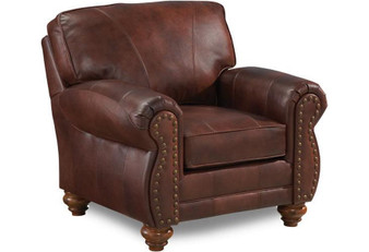 Best Leather Chair with Nailhead Trim
