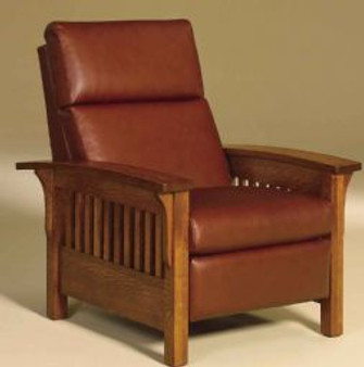 Amish AJ's Heartland Slat Recliner