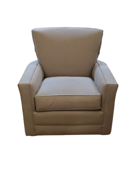 Craftmaster L0557 Leather Swivel Chair
