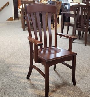 Amish Artisan Cherry Arm Chair