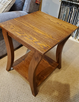 Amish GTS Oak End Table