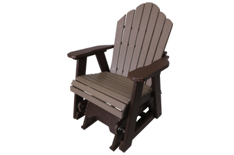 Amish poly outdoor glider