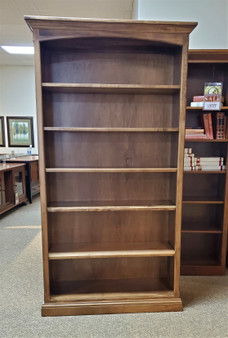 Amish Handcrafted Ambrosia Maple Bookcase Heirloom Quality High End Bookshelf