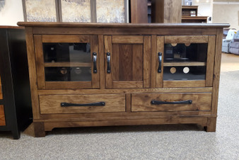Amish Handcrafted TV Stand Entertainment Center Heirloom Quality Furniture