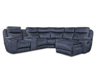 Southern Motion Show Stopper Sectional- Power Reclining Sectional American Made