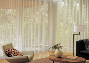 Hunter Douglas Luminette Privacy Window Sheers Coverings Treatments Shades