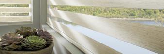 Hunter Douglas Designer Banded Window Treatments