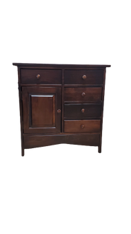 Amish Entry Way Table Brown Maple