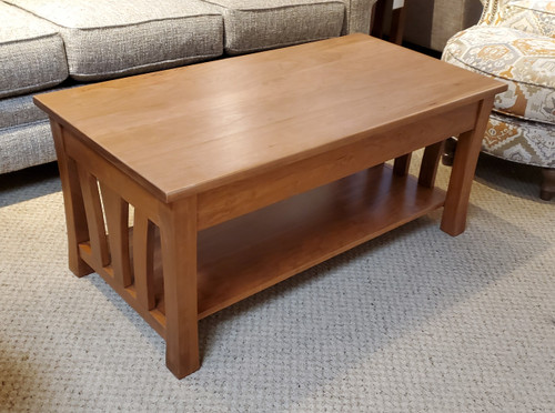 Amish L+R Cherry Coffee Table