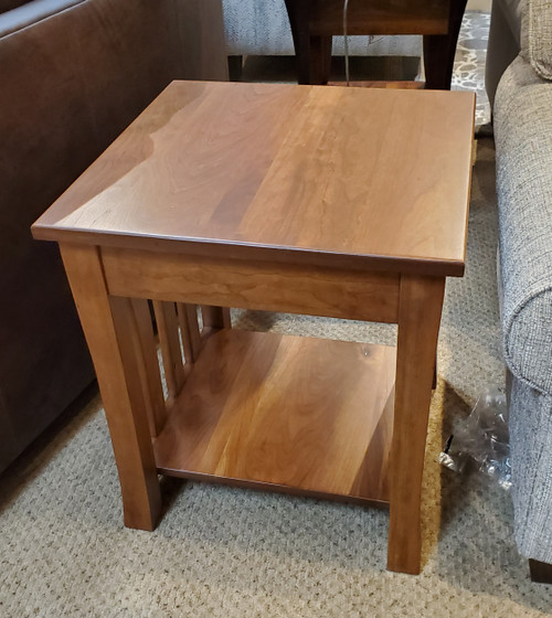 L+R Cherry End Table