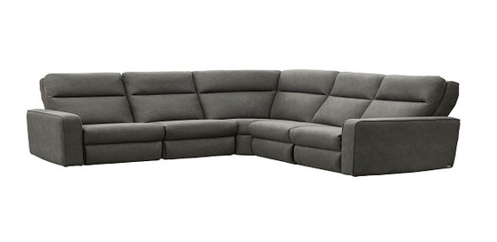ElRan 7000 Design Your Own Leather Power Reclining Sectional