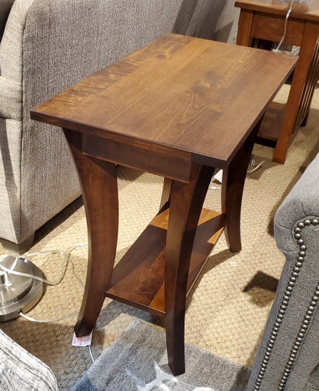 Amish Superior Maple Chairside Table