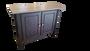 Amish Oak Entry Way Table Angle