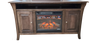 Amish Fireplace TV Stand