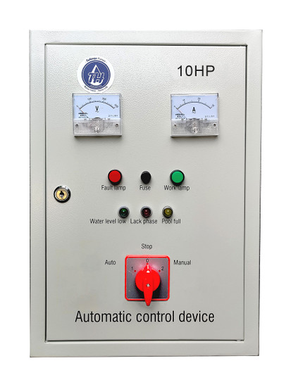 10HP well pump Control Panel with automatic and manual mode