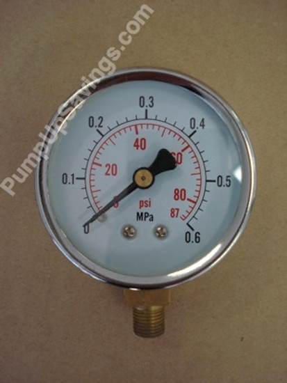 Pressure gauge reads from 0 - 87 psi