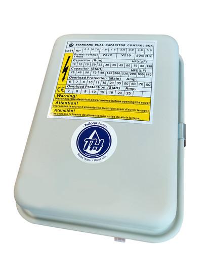 3/4 HP Control Box Pro, for Tuhorse Deep Well Pump TCB07M230