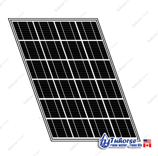 1 x 280W Tuhorse Solar Panel