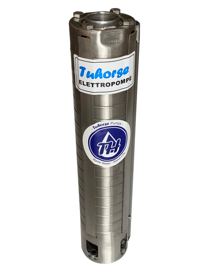 "Tuhorse Full Stainless Steel Pump-end 4"" 80GPM"