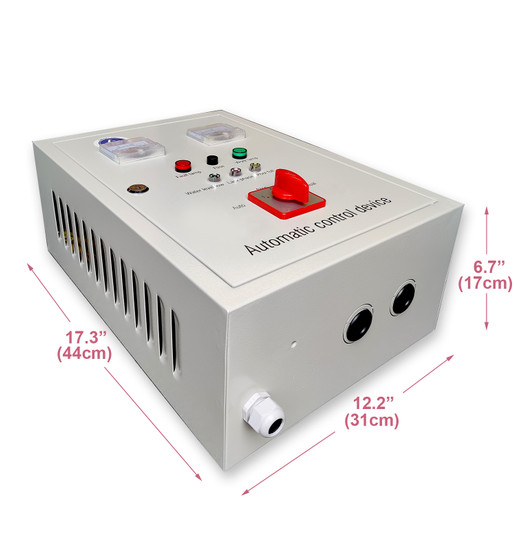 5HP / 5.5HP Control Panel, 460V 3-phase, with manual / automatic water level control (TCP55T460)