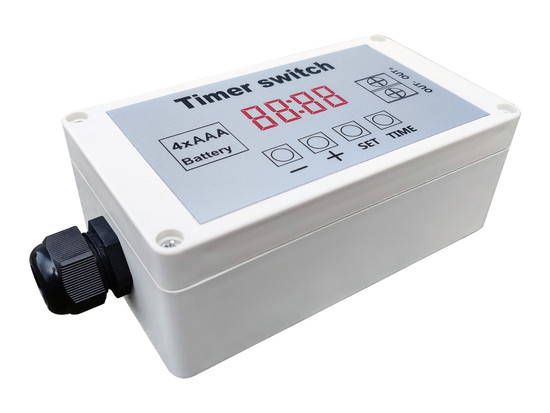 Timer Switch for Solar Pumps
