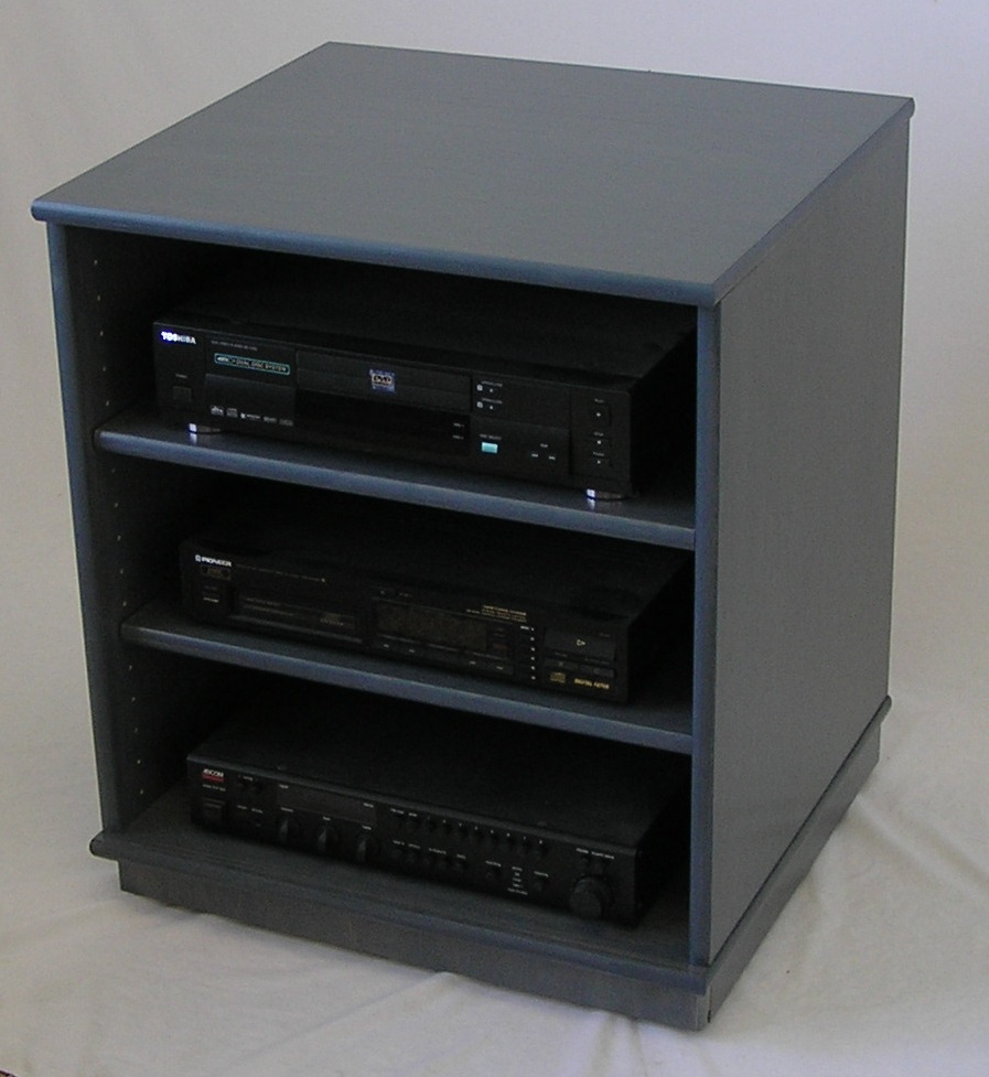 sc2224 charcoal gray finished stereo cabinet by decibeldesigns.com