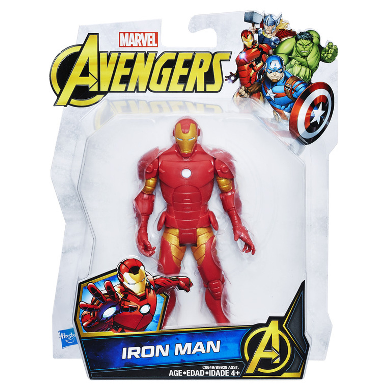 Marvel Avengers 6-Inch Basic Figures Assorted | B9939AS20