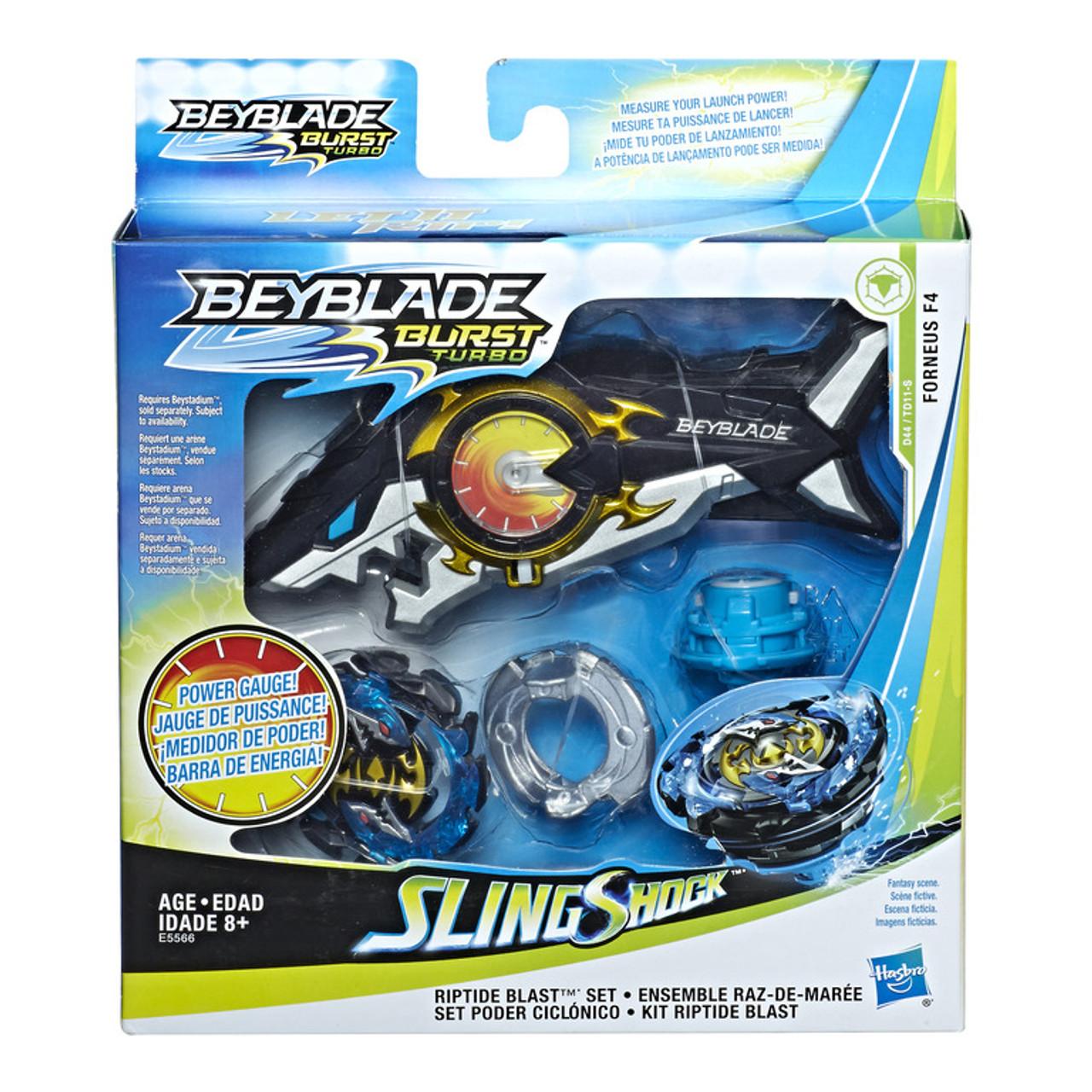 Beyblade Burst Turbo Slingshock Riptide Blast Set | E5566