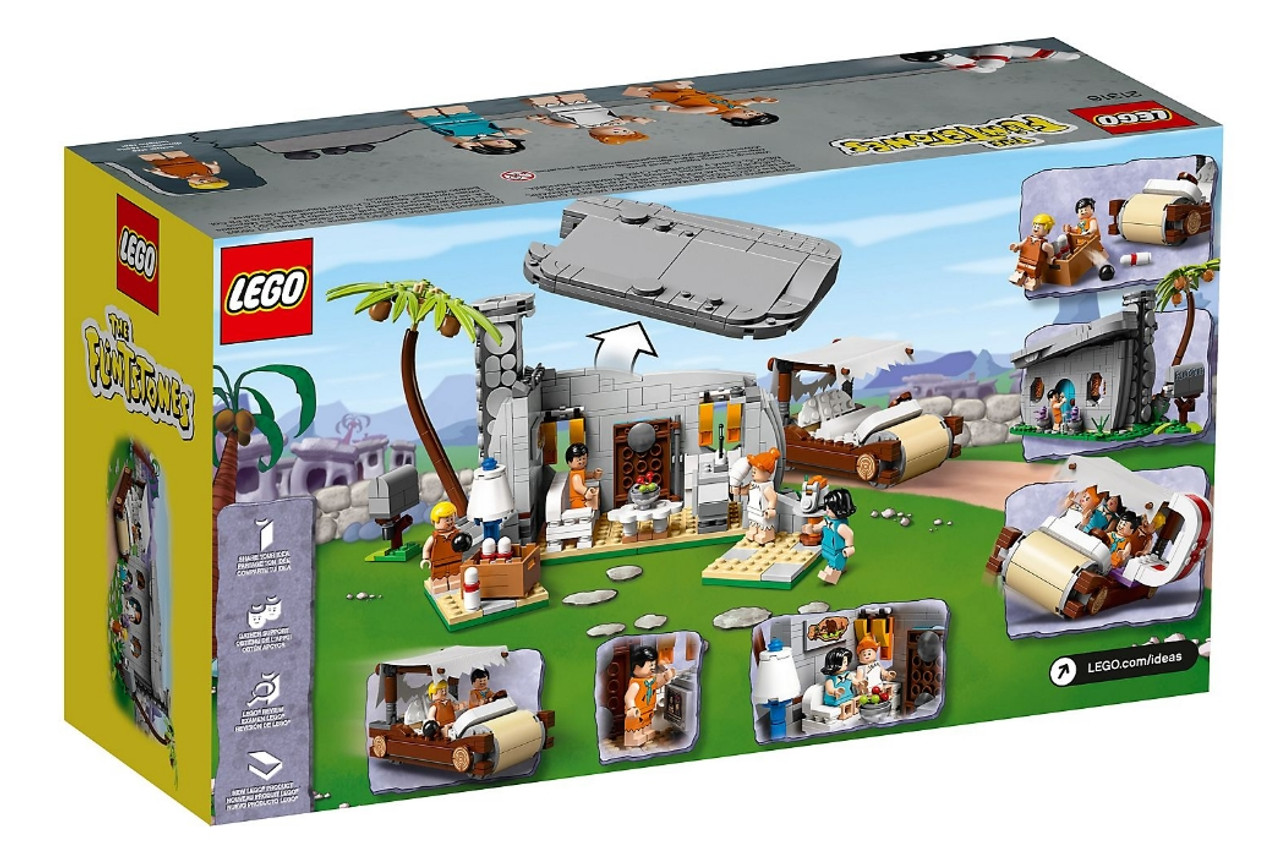 LEGO Flintstones 21316 The Flintstones Brand New in hand