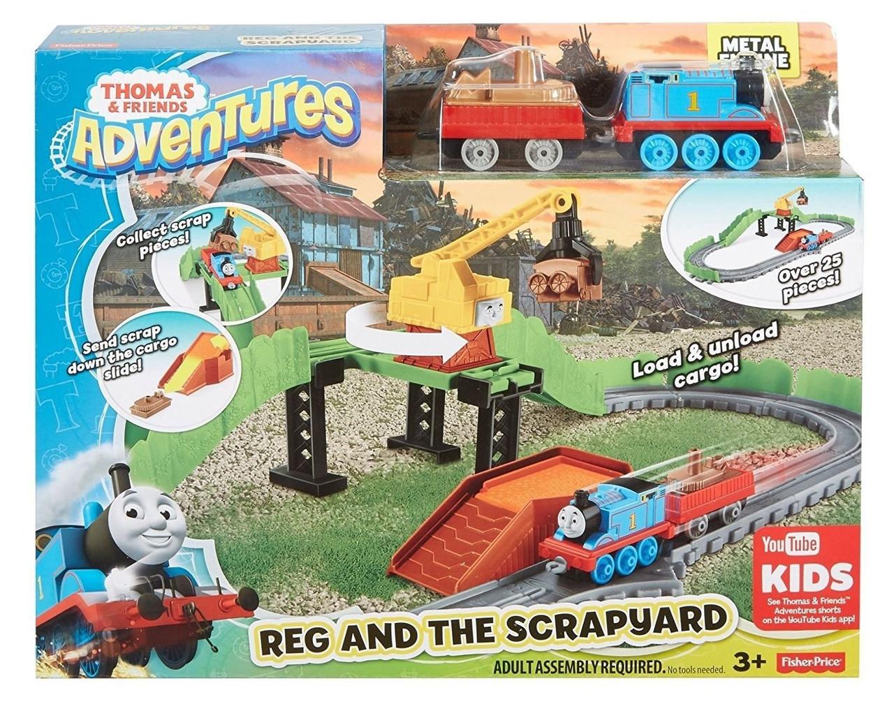 Thomas & Friends Adventures Reg At The Scrapyard Set