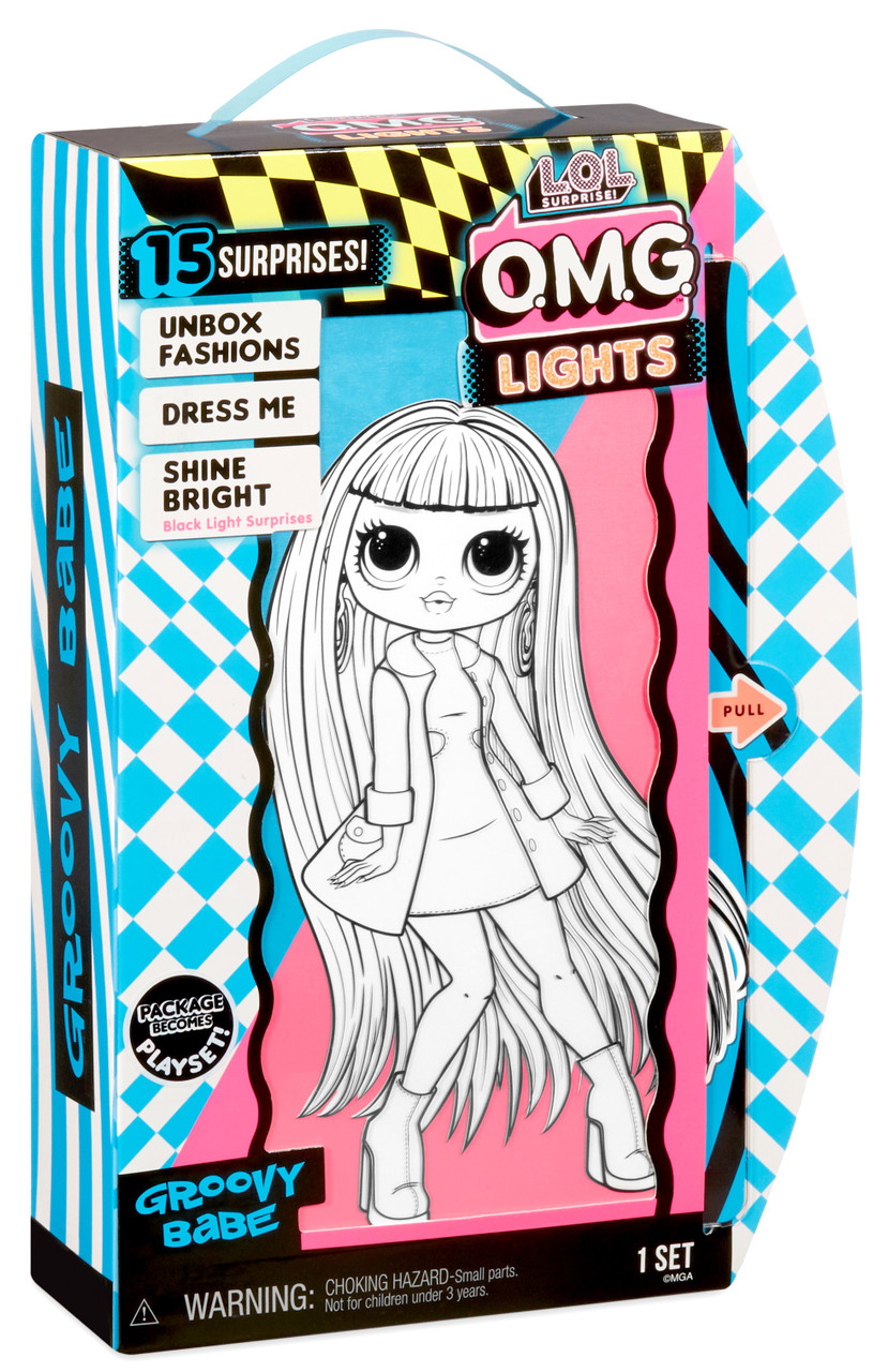 L O L Surprise O M G Doll Lights Series At Toymate Dolls Collectables Playsets