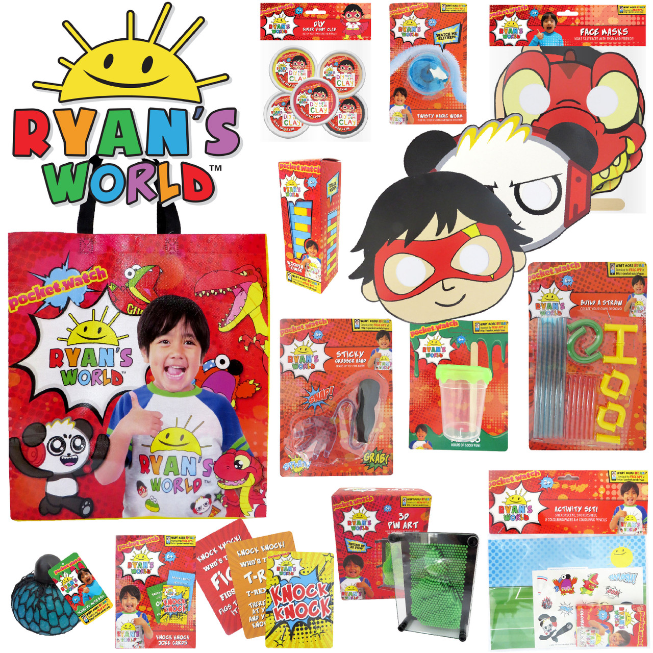 Ryans World Showbag Easter Show At Toymate Zip