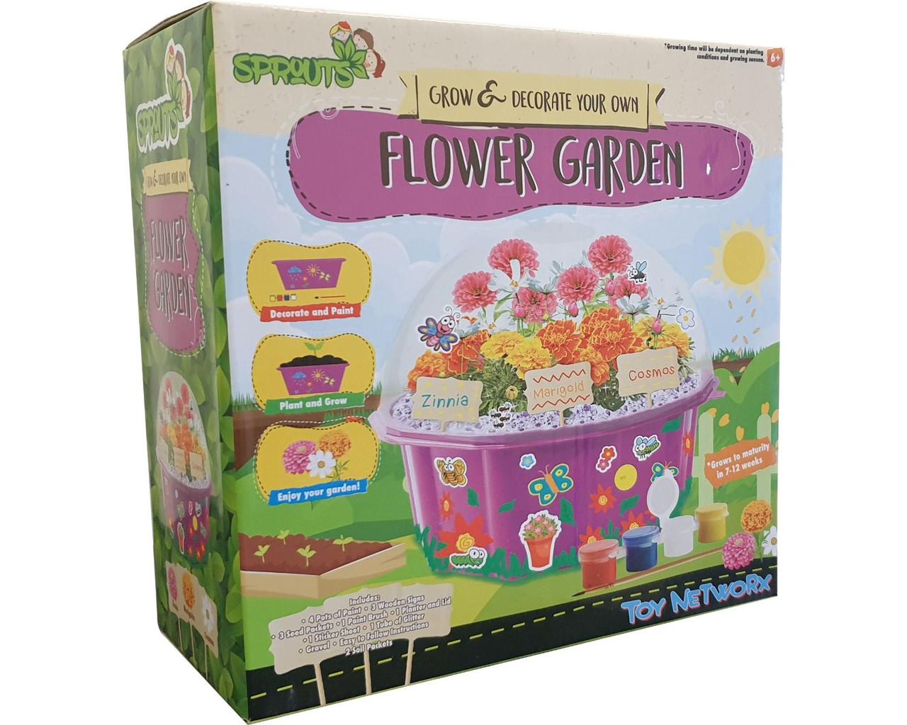 Sprouts Flower Garden