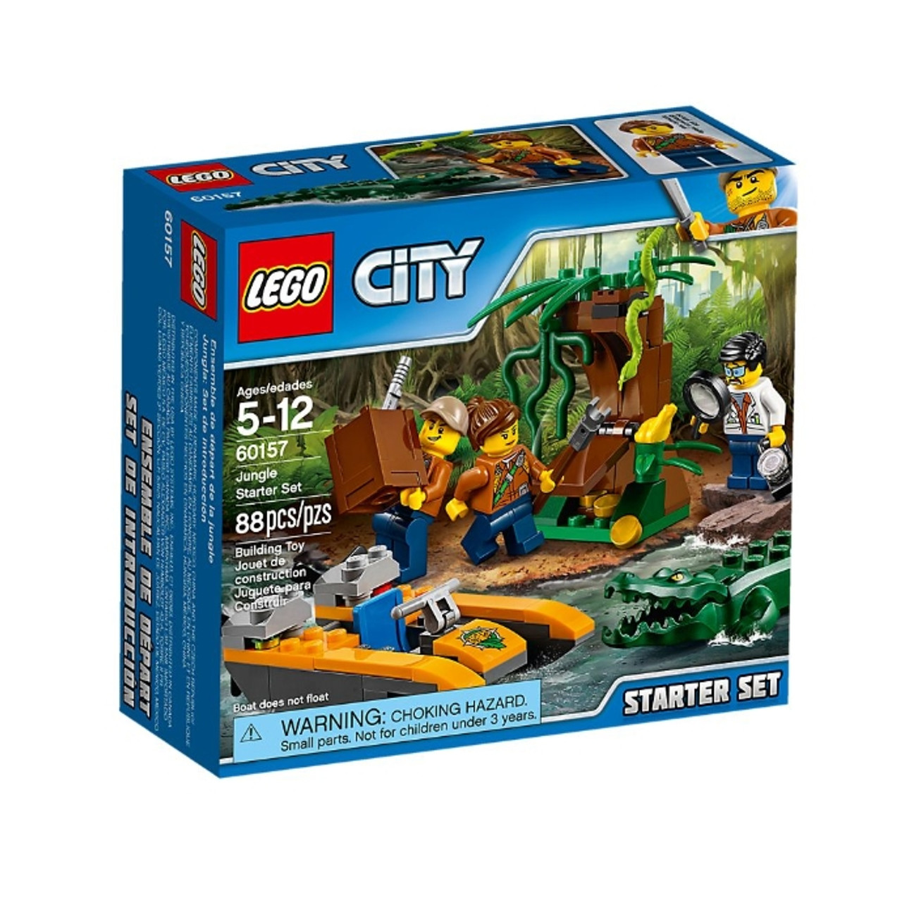 Jungle Set 60157 Starter Lego Lego qMpGzVSU