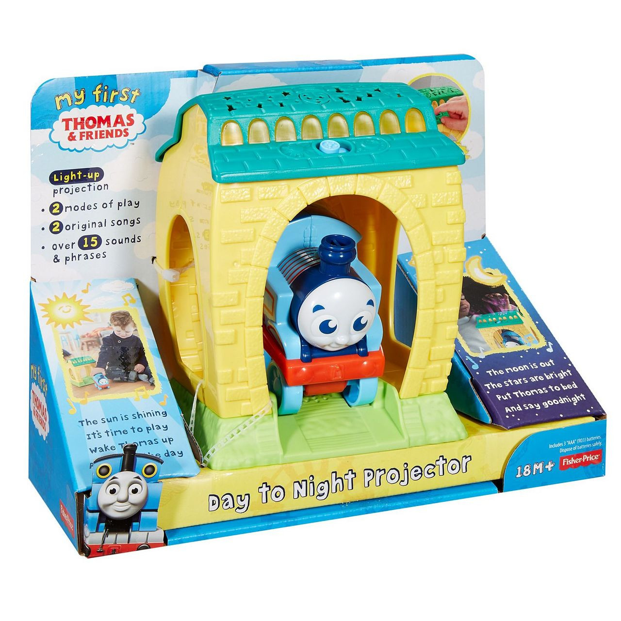 Fisher-Price My First Thomas & Friends Day To Night Projector