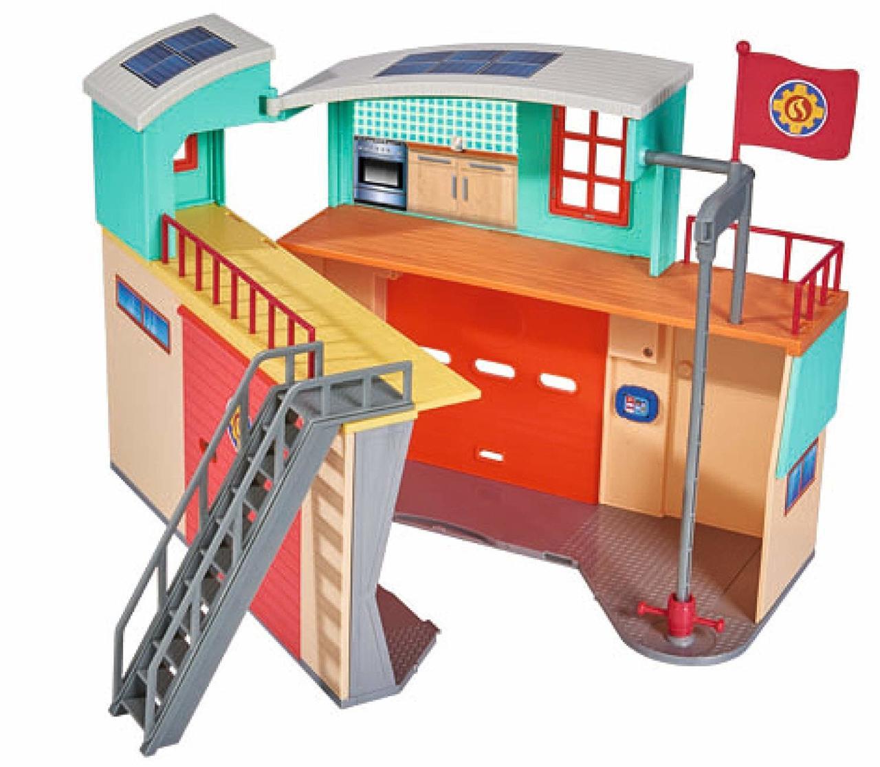 Bib Fireman Sam New Fire Station
