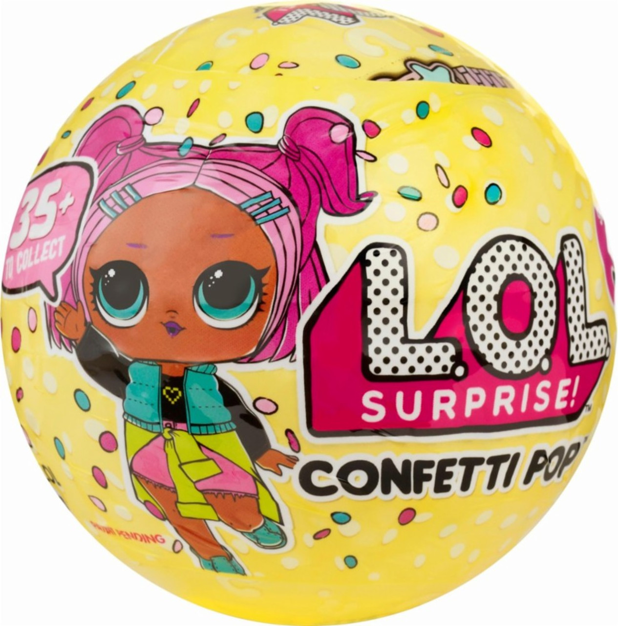 Lol Surprise Confetti Pop Asst In 18Pc Pdq Series 3 Wave 1