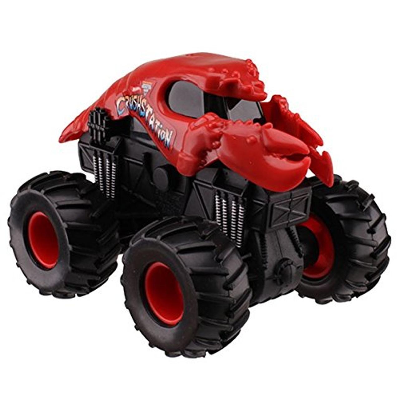 Hot Wheels Monster Jam Playmat includes 3 Trucks