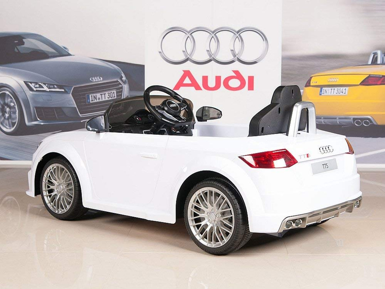 Audi Tts Roadster 6V 2.4Gwhite