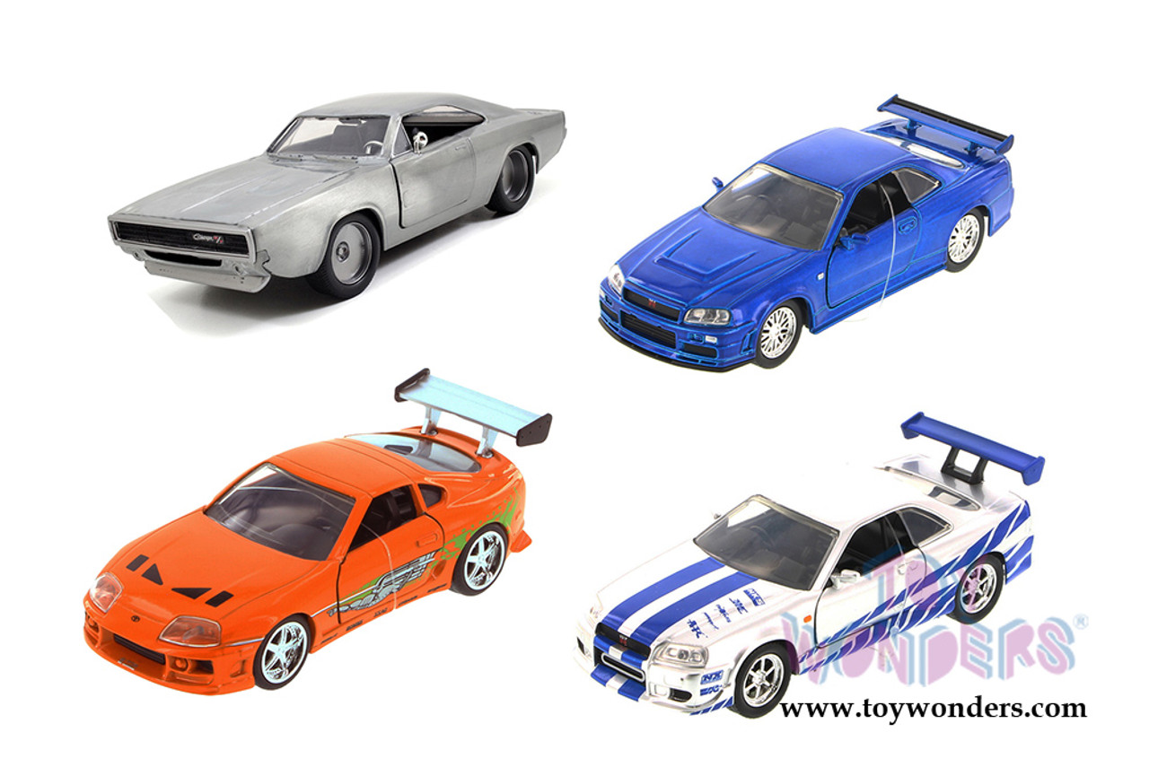 Fast Amp Furious 1 32 Diecast Assorted Wave 3 24037 Toymate