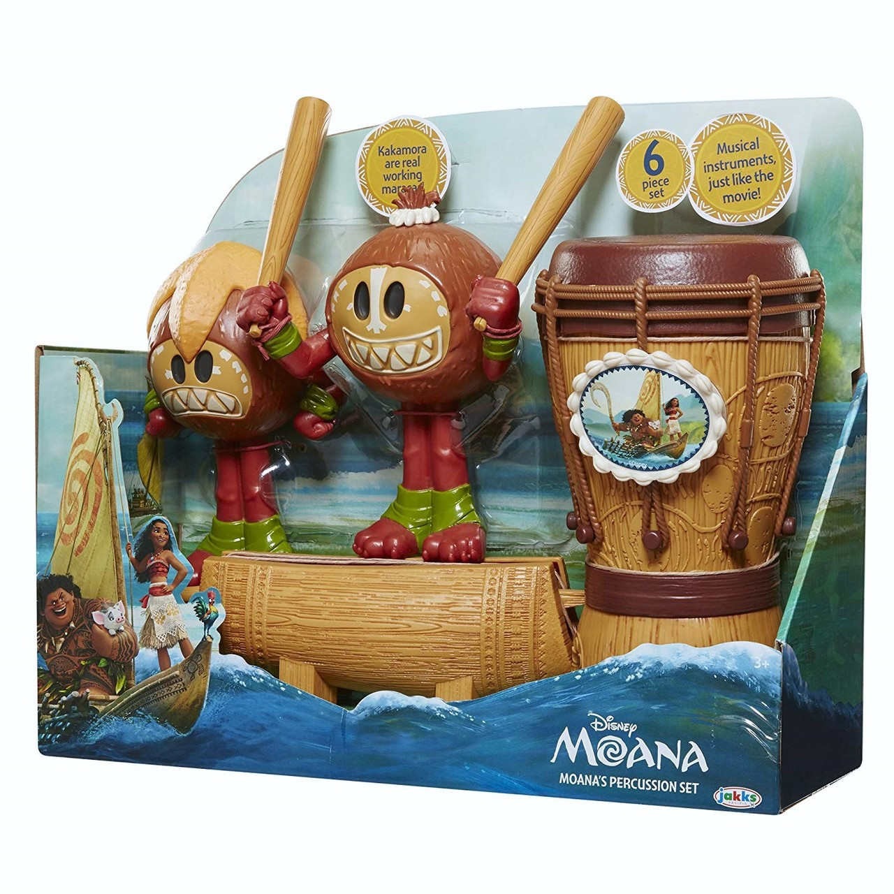 Moana Percussion Set