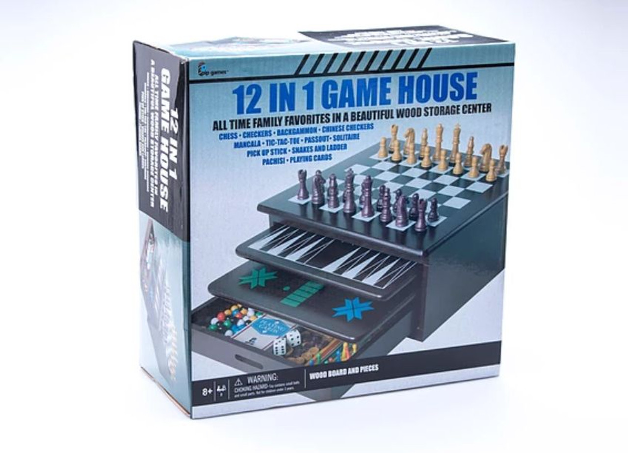 12 In 1 Game House