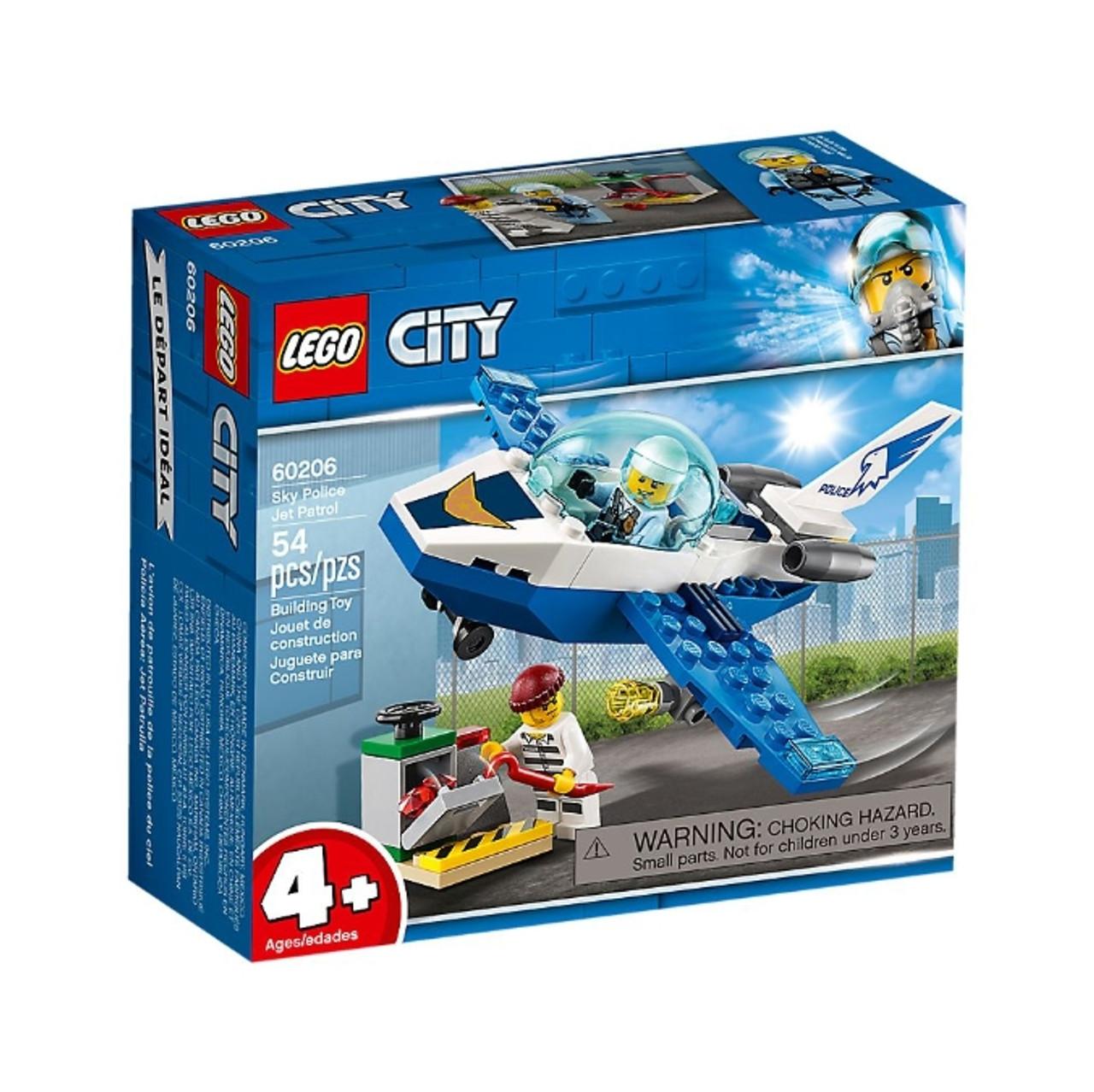 City 60206 Police Patrol Jet Sky Lego EDYHIW92
